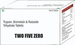 Trypsin Bromelain & Rutoside Tablets