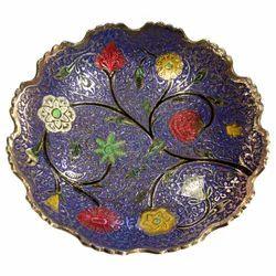 Brass Flower Bowl