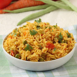 Ready To Eat Vegetable Pulao