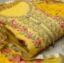 Ladies Embroidered Suit Material