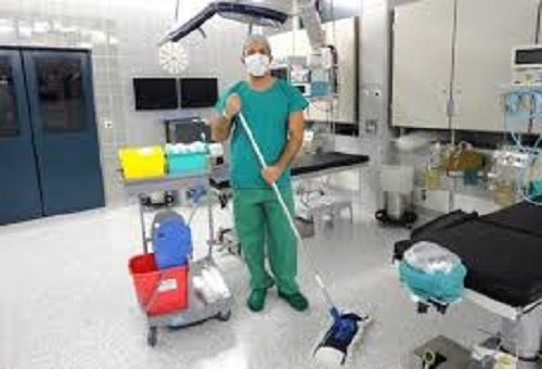 Hospital Cleaning & Disinfection Service