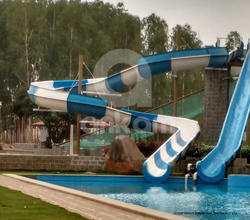 Water Park Open Float Slide