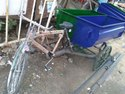 MS Container Garbage Cycle Rickshaw