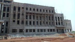 R.c.c. Concrete Commercial building Construction Services with material, in Raipur