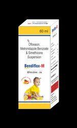 Ofloxacin Metronidazole Benzoate And Simethicone Suspension