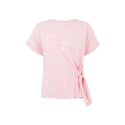 Cotton Plain Pink Surplus Ladies Top