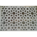 White Glass Reinforced Concrete Jali, For Decoration