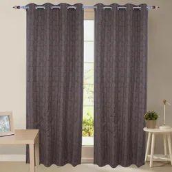 Floral Parda Online Linen Door Curtain, Size: 7x4 Feet