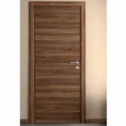 Teak Elements Flush Door