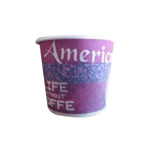 Printed Paper Coffee Cup, Packaging Type: Packet, For Event And Party Supplies
