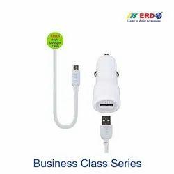 CC 11 Micro USB White Car Charger