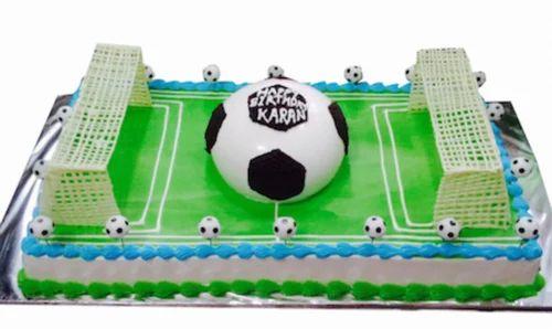 Terrific Soccer Field Cake Huckleberrys The Cake Shop Funny Birthday Cards Online Aboleapandamsfinfo