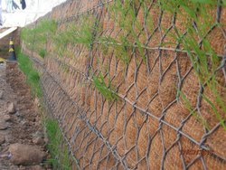 Rock Protection Wire Terramesh, Thickness: 1-3 mm