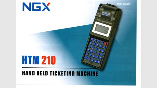 2' '  Automatic IRCTC Ticketing Machine, Battery Capacity: 10 Hour, Model Number: Htm-210