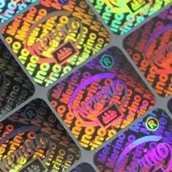 Hologram Sticker Labels