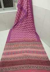 Traditional Bagru Hand Block Printed Saree