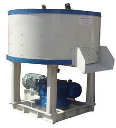 Semi Automatic Pan Mixer Machine