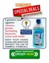 Hand Sanitizer Alcohol Base With Herbal Goodness