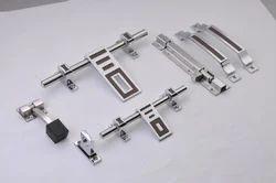 White Metal Door Kit
