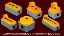 Yellow & Grey Sabo Aluminum Control Stations