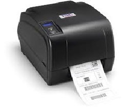 Black And White TSC Barcode Label Printer TA 210, 0-50, Speed: >400 Meter Per Hour