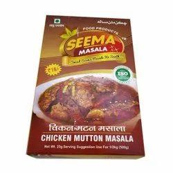 Seema Masala Chicken Mutton Masala, Packaging Size: 25 g, Packaging Type: Packets