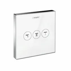 Chrome Hydraulic Hansgrohe ShowerSelect valve 3, Model Name/Number: 15764000