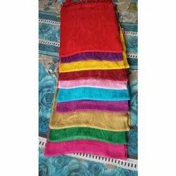Self Jacquard Viscose Girls Stoles