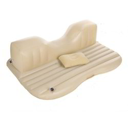 Beige Standard XElectron Car Inflatable Bed with Electric Pump, Size: Universal