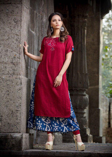 2b1967e96f Cotton And Rayon Marvelous Printed Kurtis, Size: M & XL, Rs 695 ...