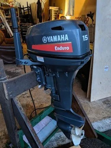 Used Yamaha 15 Hp 2 Stroke Outboard Engine At Rs 135000 Number Outboard Engines Id 22046253348