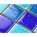 9 mm Glass Mosaic Swimming Pool Tile
