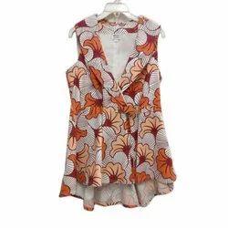 Ladies Sleeveless Fashion Top