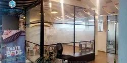 Grid Office Glass Partition