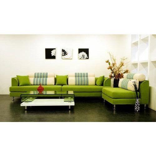 Steel Frame Green Sofa Sets