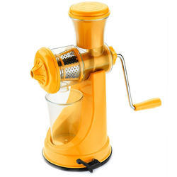 Plastic Orange Fruit & Vegetable Juicer