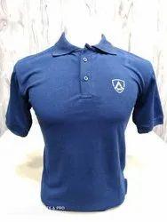 SFP Cotton Men Polo Collar T Shirt
