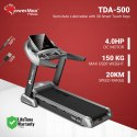 TDA-500 Powermax Motorized Treadmill