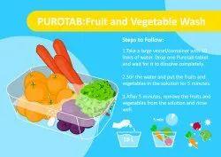 Fruit And Vegetables Sanitizer Tablets