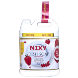 Dish Wash Liquid Soap (Strawberry Fresh) 5 L By Nixy