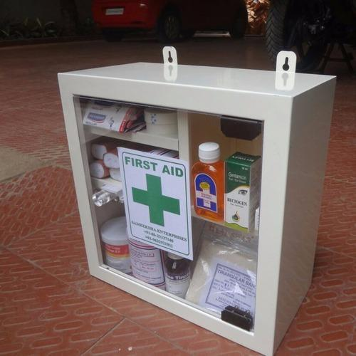 Metallic First Box First Aid Box Metallic Sameeksha