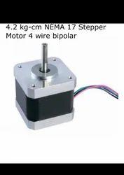 4.2 kg-cm NEMA 17 stepper motor 4 wire bipolar for CNC / 3d printer / Robotics -  Robocraze