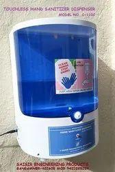 Touchless Hand Sanitizer Dispenser Model No. C-110c