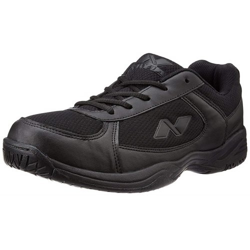 Daily wear Black Nivia School Shoes