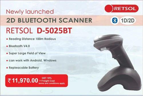 Retsol D 5025bt Barcode Scanners