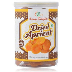 Kenny Delights Dried Apricot, Packaging Type: Plastic Box, Packing Size: 4 Kg