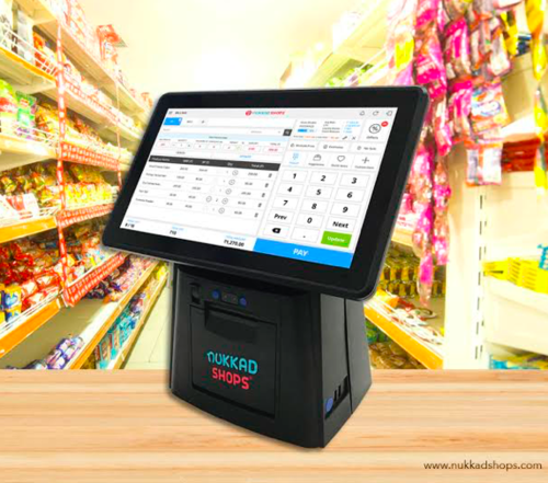 Touch Screen Billing Machine with 2 Inch Printer