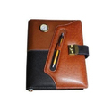 Leather Organizer Diary With Pen