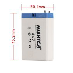 4V 2AH Rechargeable Lead Acid battery ( No Retail only Wholesale)