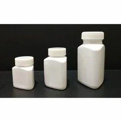 Triangular PET Capsule Jars 40-130 Ml